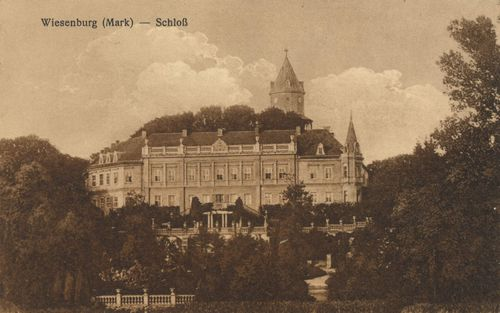 Wiesenburg (Mark), Brandenburg: Schloss