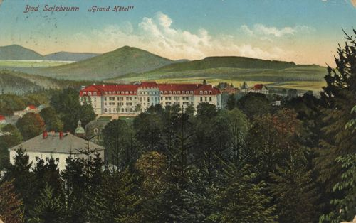 Bad Salzbrunn, Schlesien: Grand Hotel
