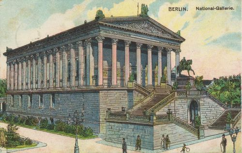 Berlin, Mitte, Berlin: Nationalgalerie
