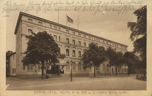 Bonn, Nordrhein-Westfalen: Grand Hotel Royal