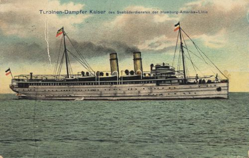 Hamburg, Hamburg: Turbinendampfer Kaiser