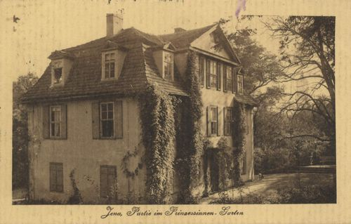 Jena, Th�ringen: Prinzessinnengarten