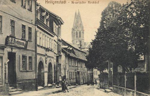 Heiligenstadt, Thüringen: Neustädter Kirchhof
