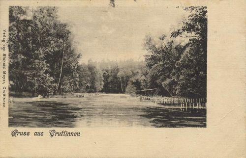 Kruttinnen, Ostpreußen: Landschaftansicht