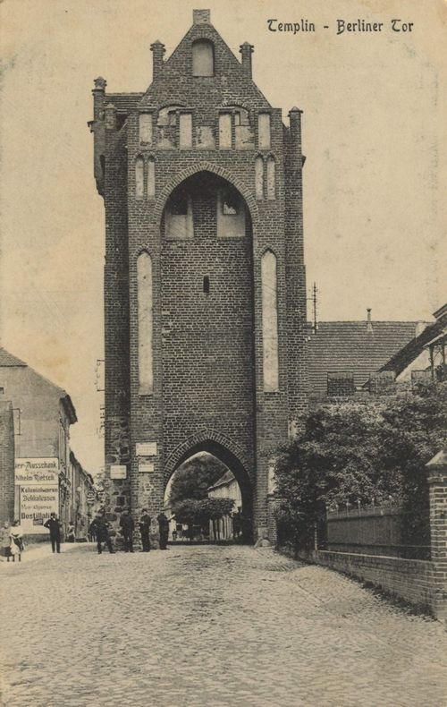 Templin, Brandenburg: Berliner Tor