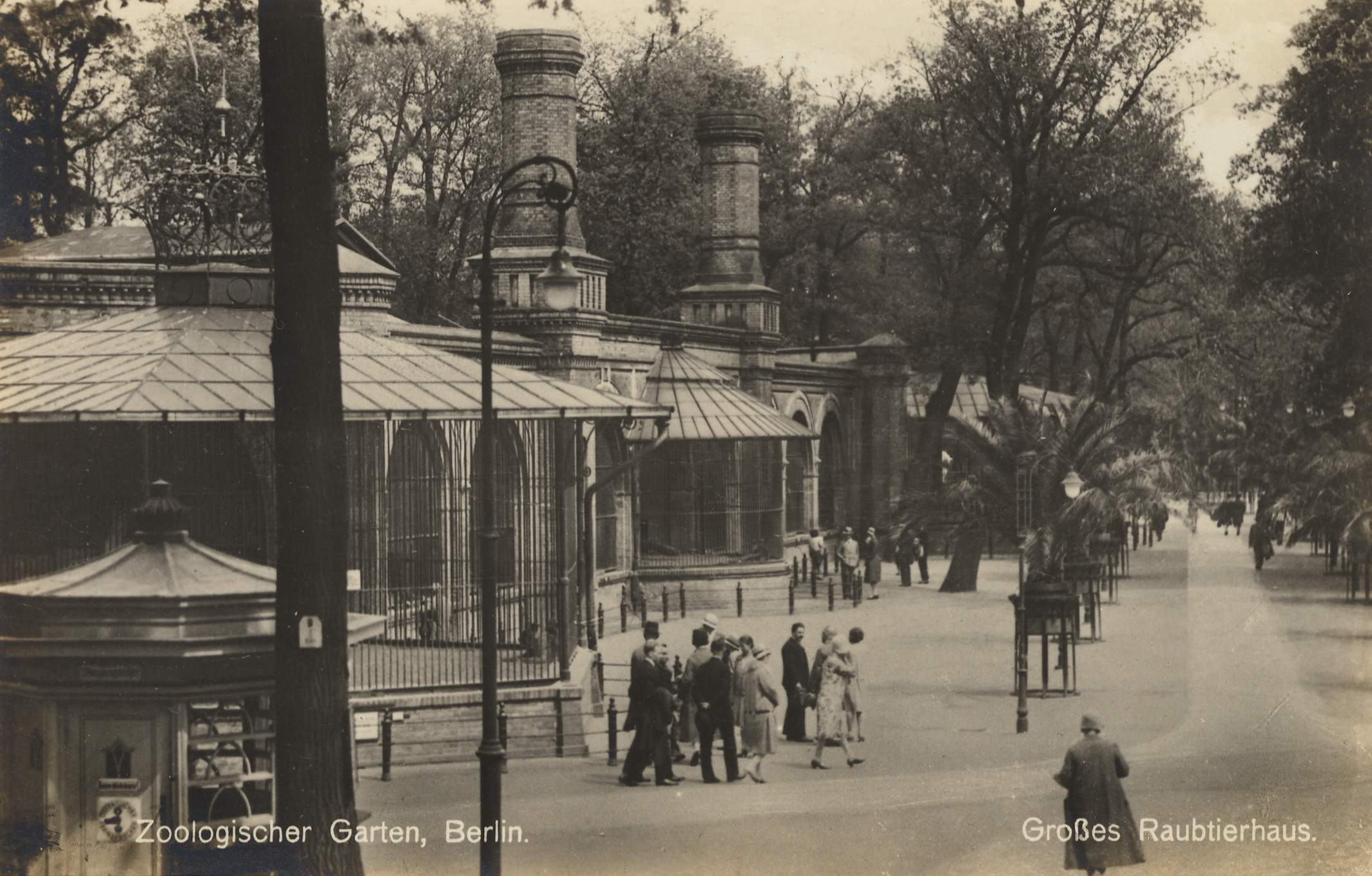 Berlin, Charlottenburg, Berlin, Zoologischer Garten ...