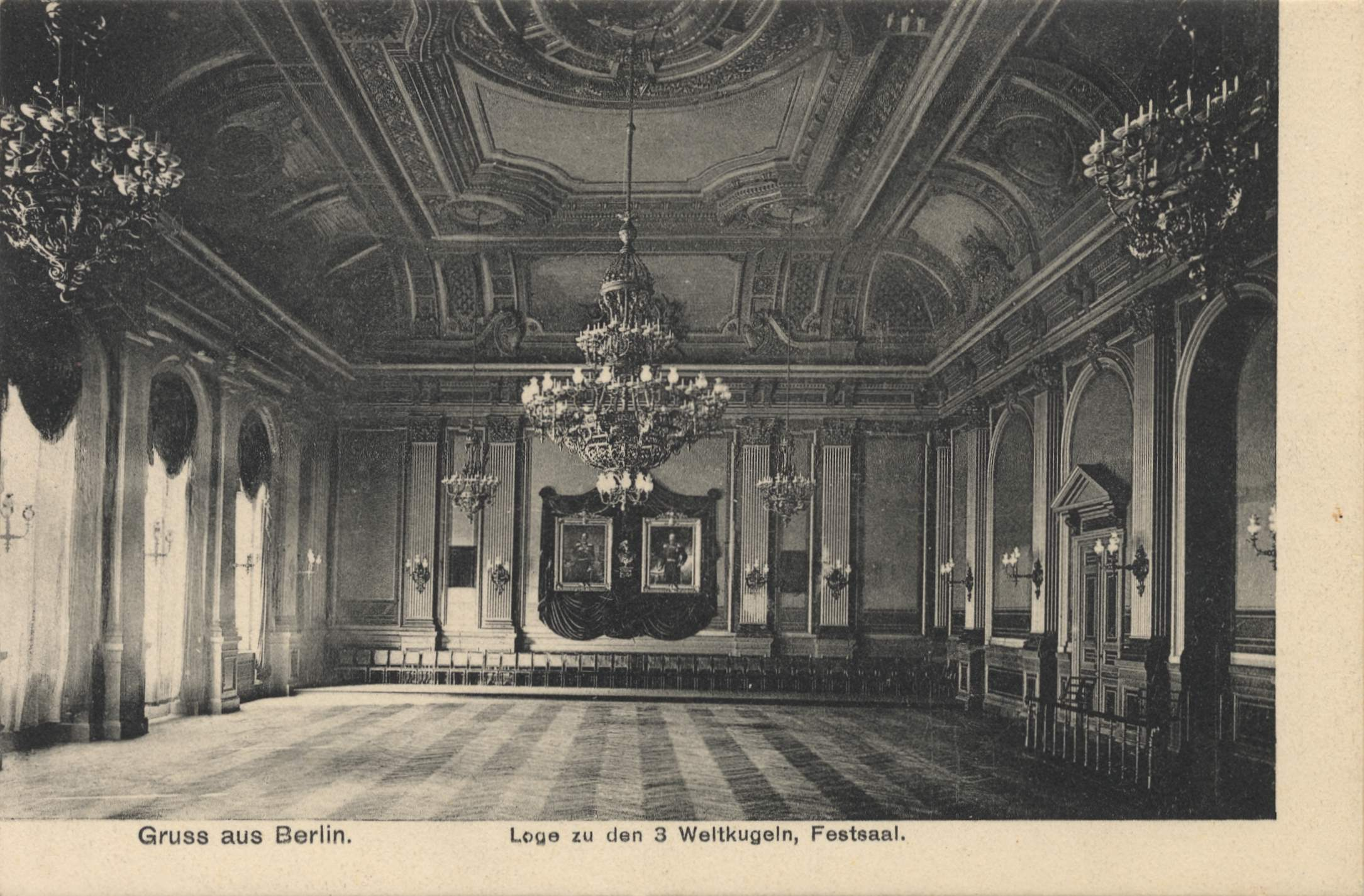 berlin steglitz berlin loge zu den drei weltkugeln festsaal. Black Bedroom Furniture Sets. Home Design Ideas