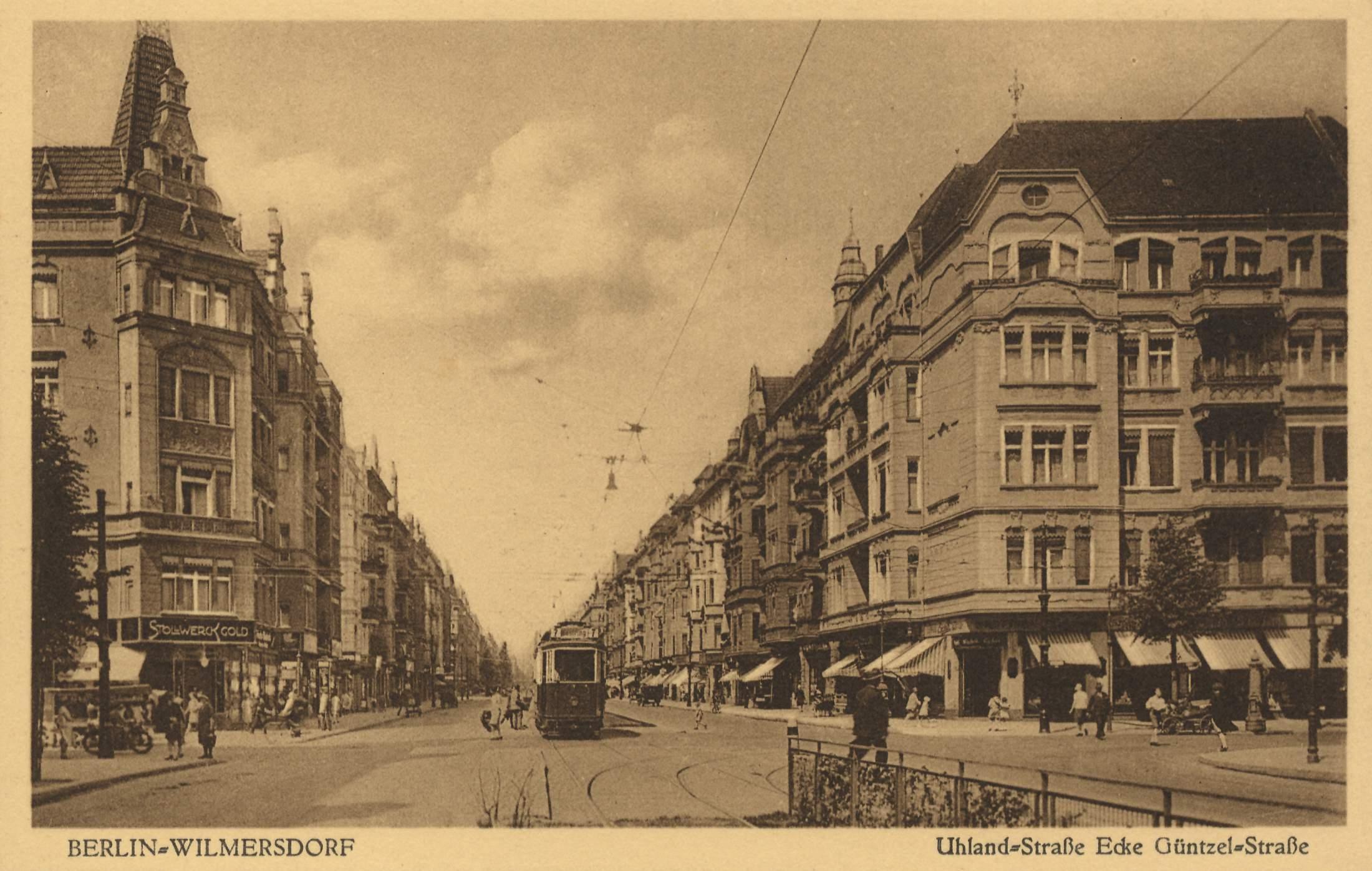 Berlin, Wilmersdorf, Berlin, Uhlandstraße Ecke