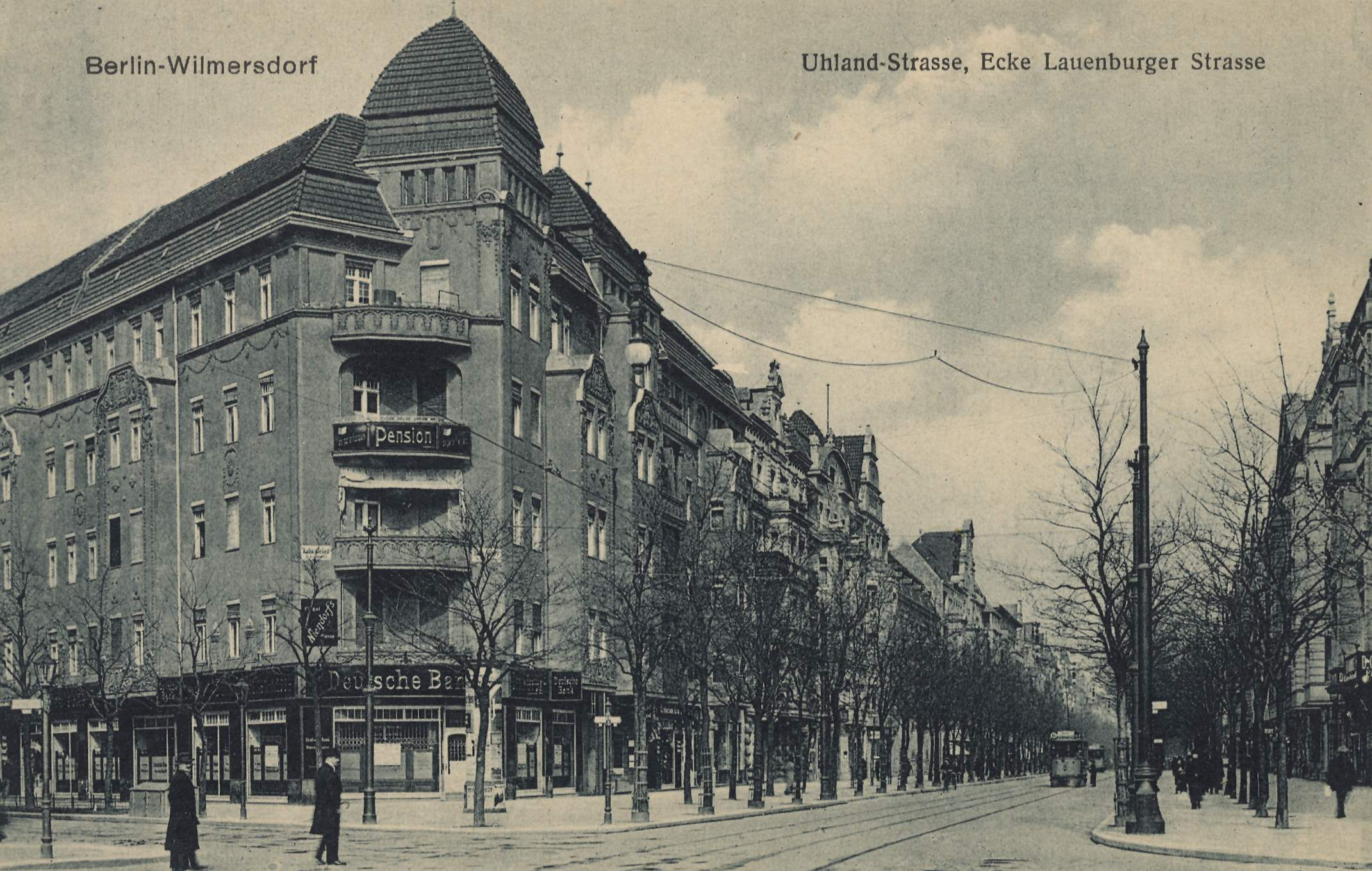 Berlin, Wilmersdorf, Berlin, Uhlandstraße Ecke Lauenburger