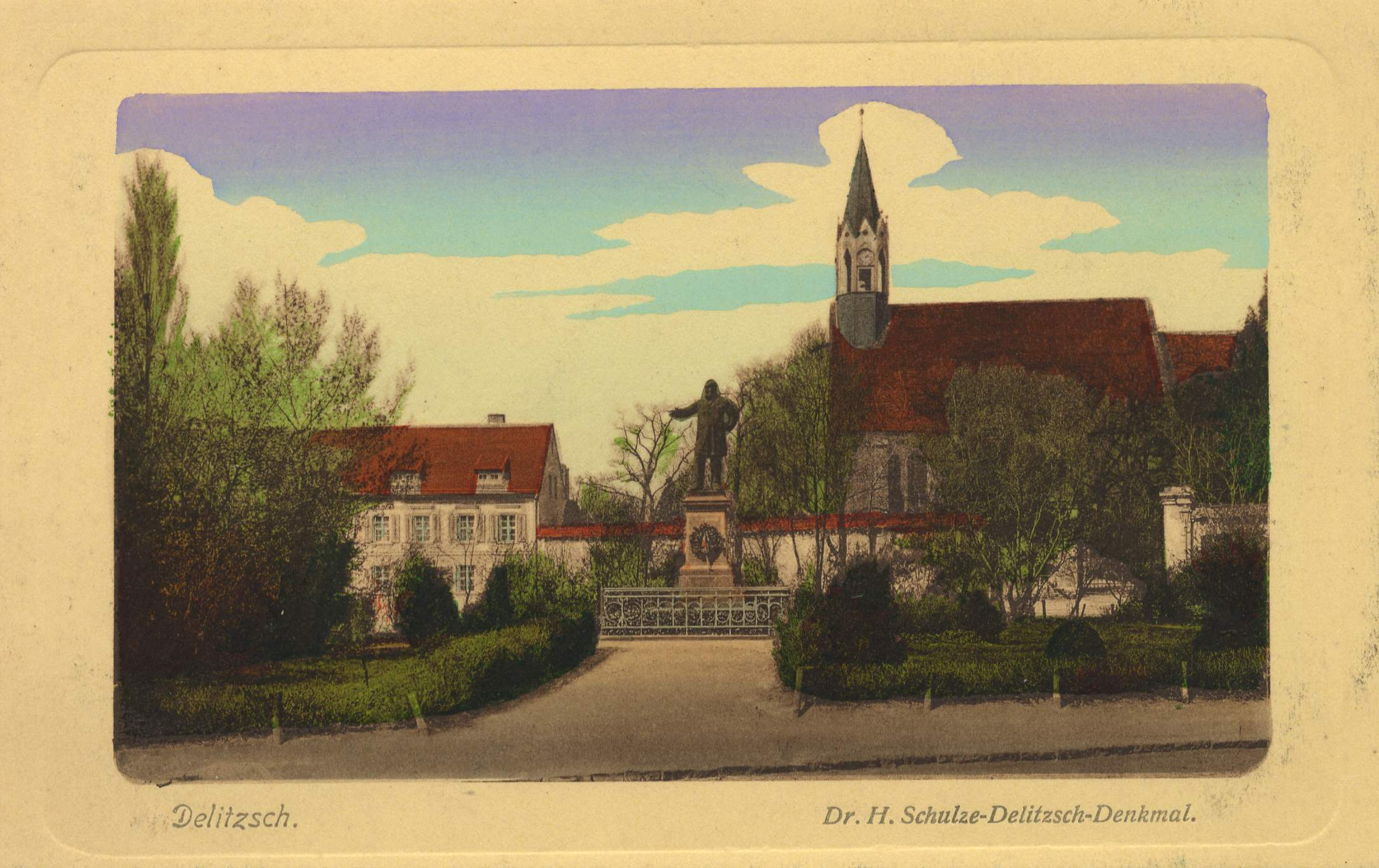 Wahrzeichen der Stadt: Barockschloss mit Barockgarten