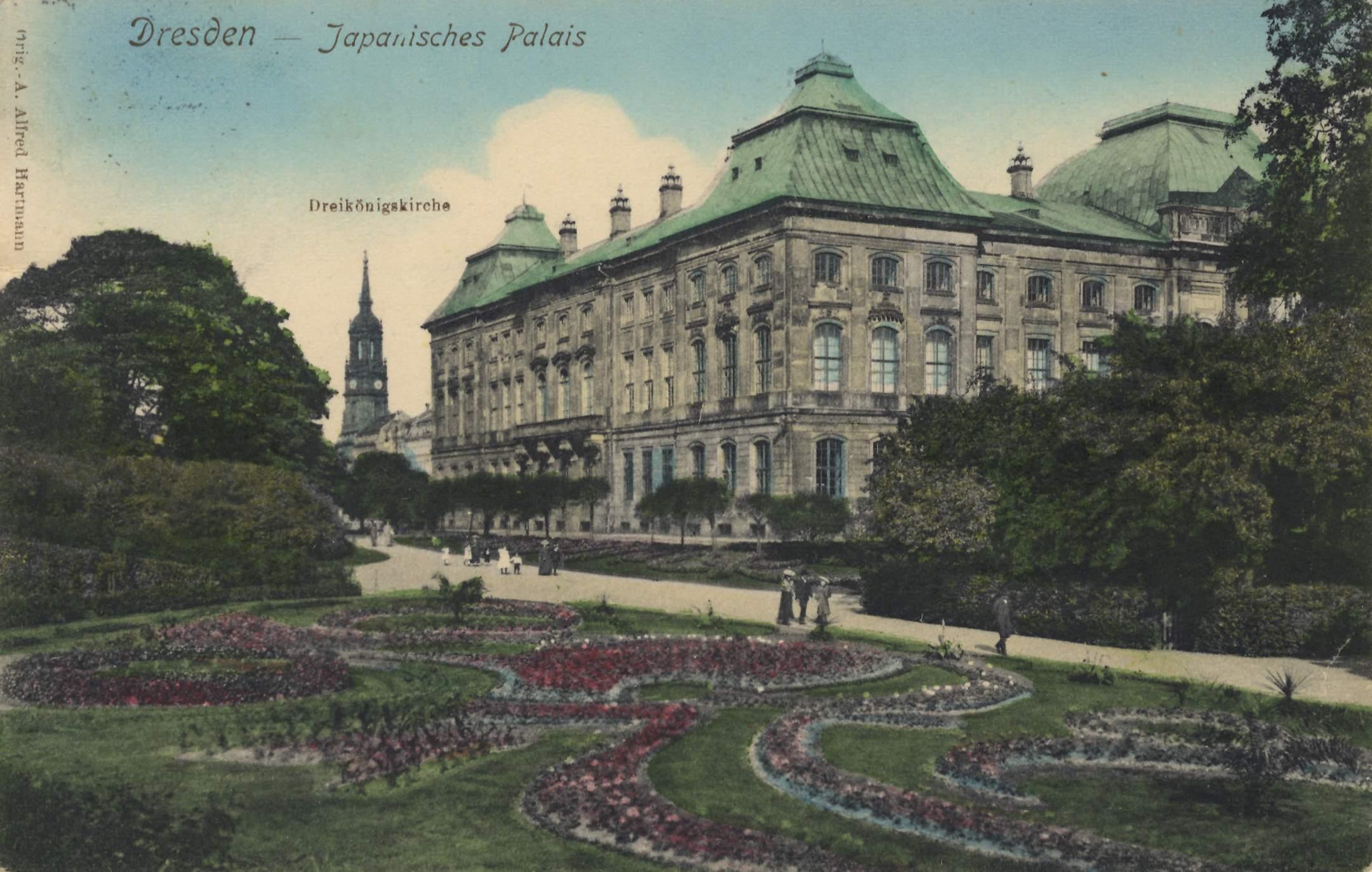 dresden japanisches palais dresden