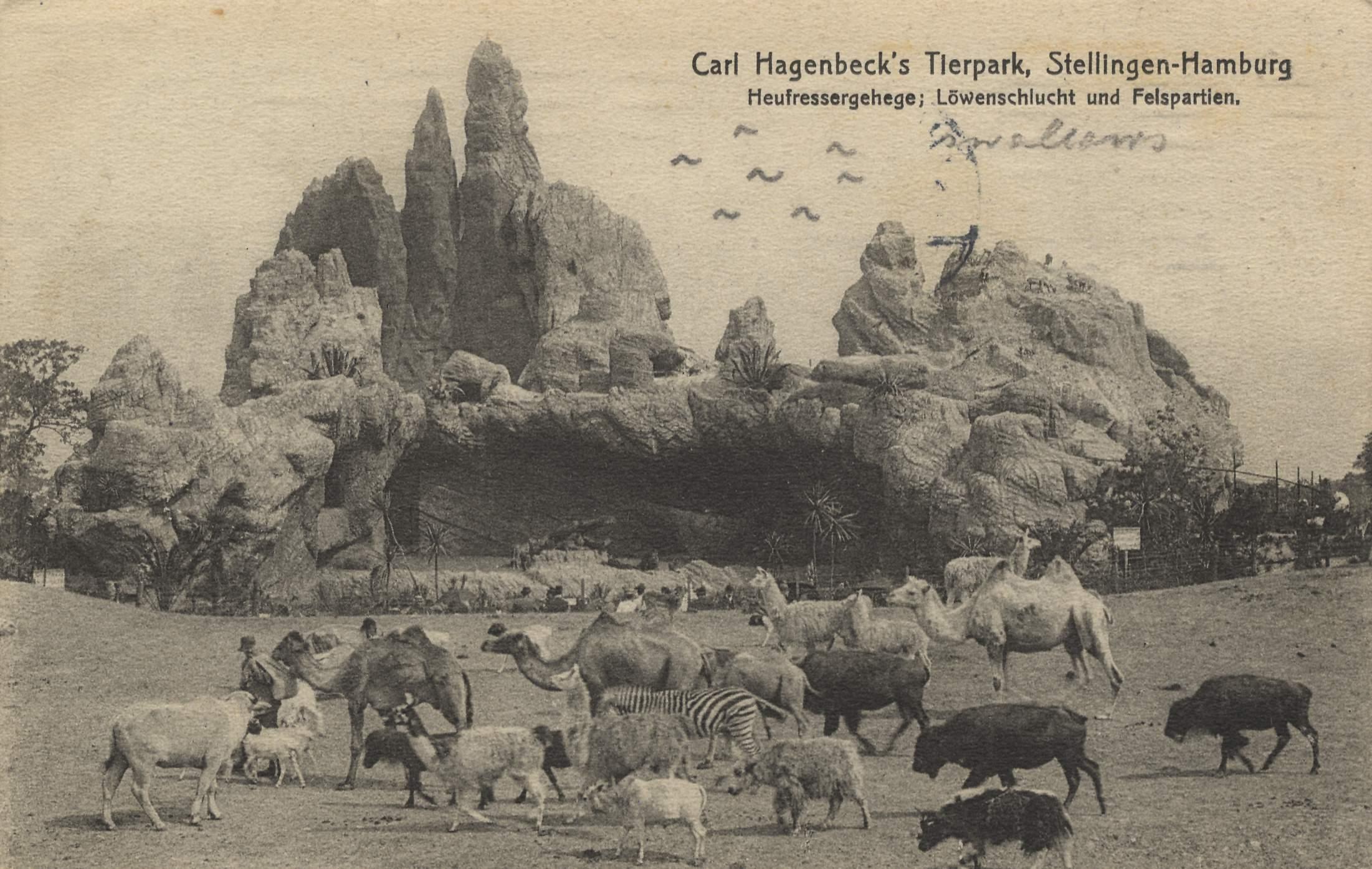 Delicieux Hamburg, Hamburg: Zoologischer Garten; Carl Hagenbecks Tierpark;  Heufressergehege