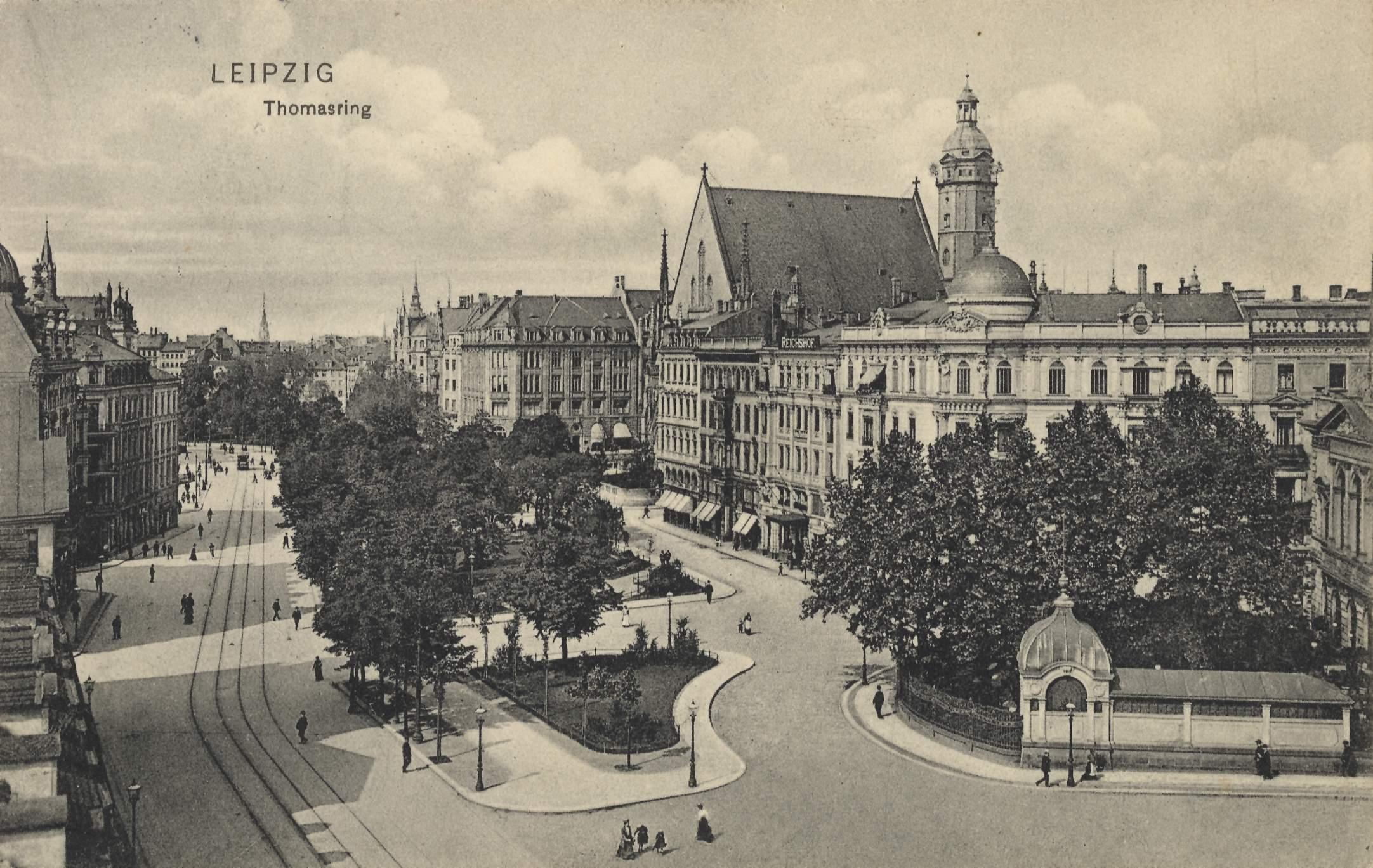старый фото лейпциг