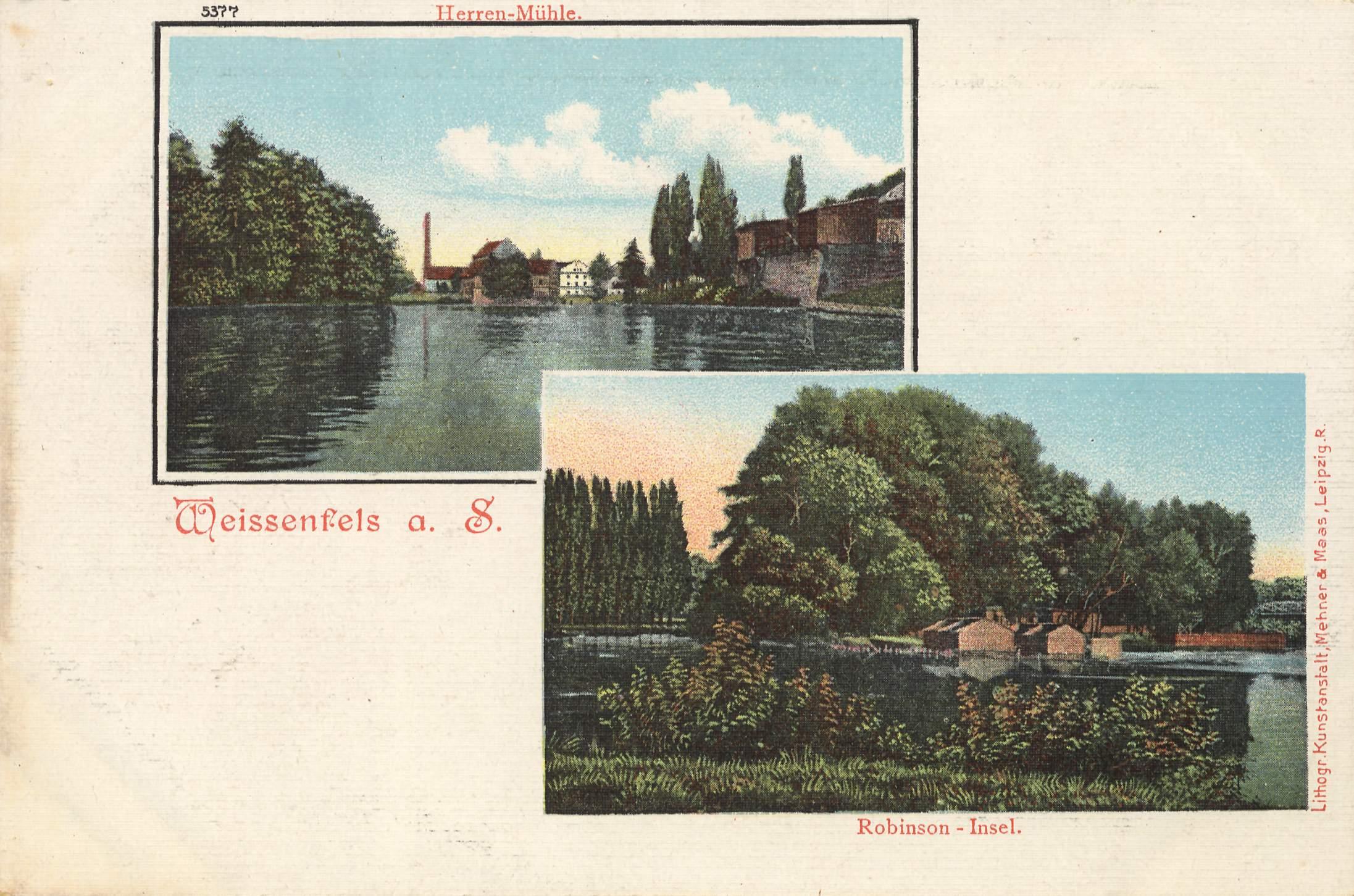 hahnsaugen Weißenfels(Saxony-Anhalt)