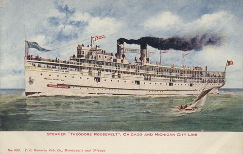 Chicago and Michigan City Line, Dampfschiff 'Theodore Roosevelt'