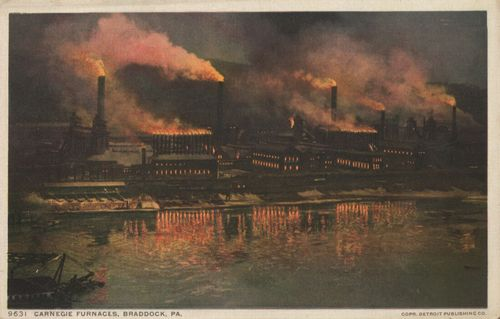 Braddock (Pennsylvania), Carnegie Furnaces