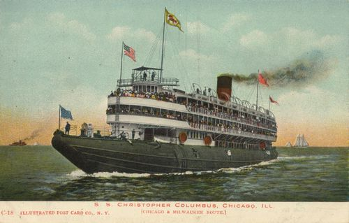 Chicago. Illinois, S. S. Christopher Columbus