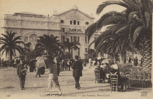 Cannes, Casino Municipal