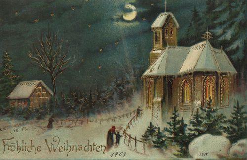 Mitternachtsmesse Weihnachten