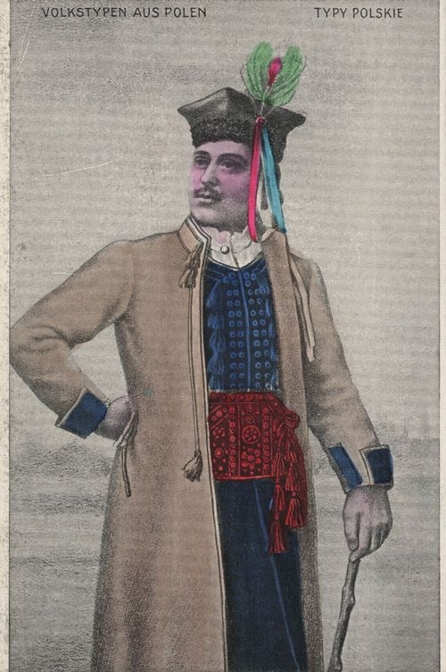 Mann in Festtracht