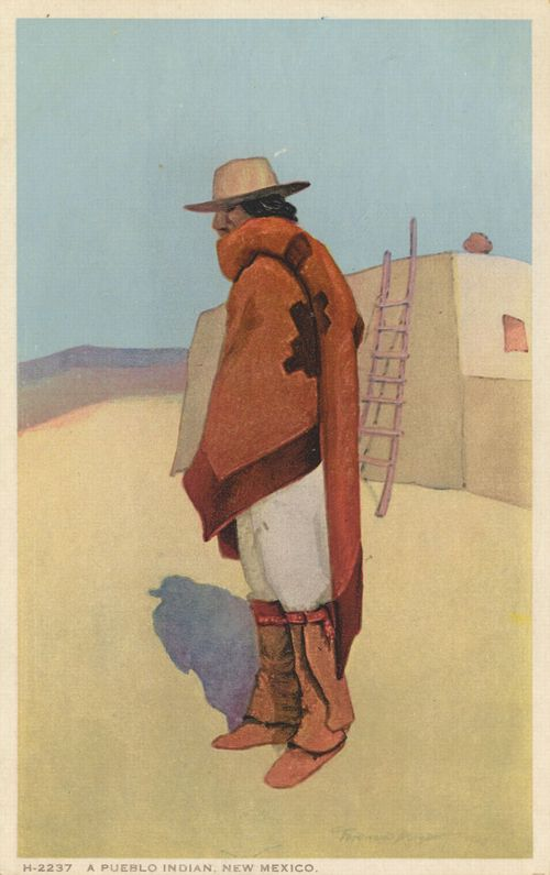 Pueblo-Indianer, New Mexico