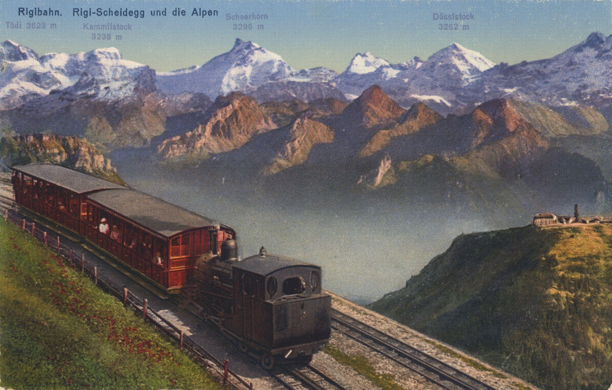 Die erste Rigibahn