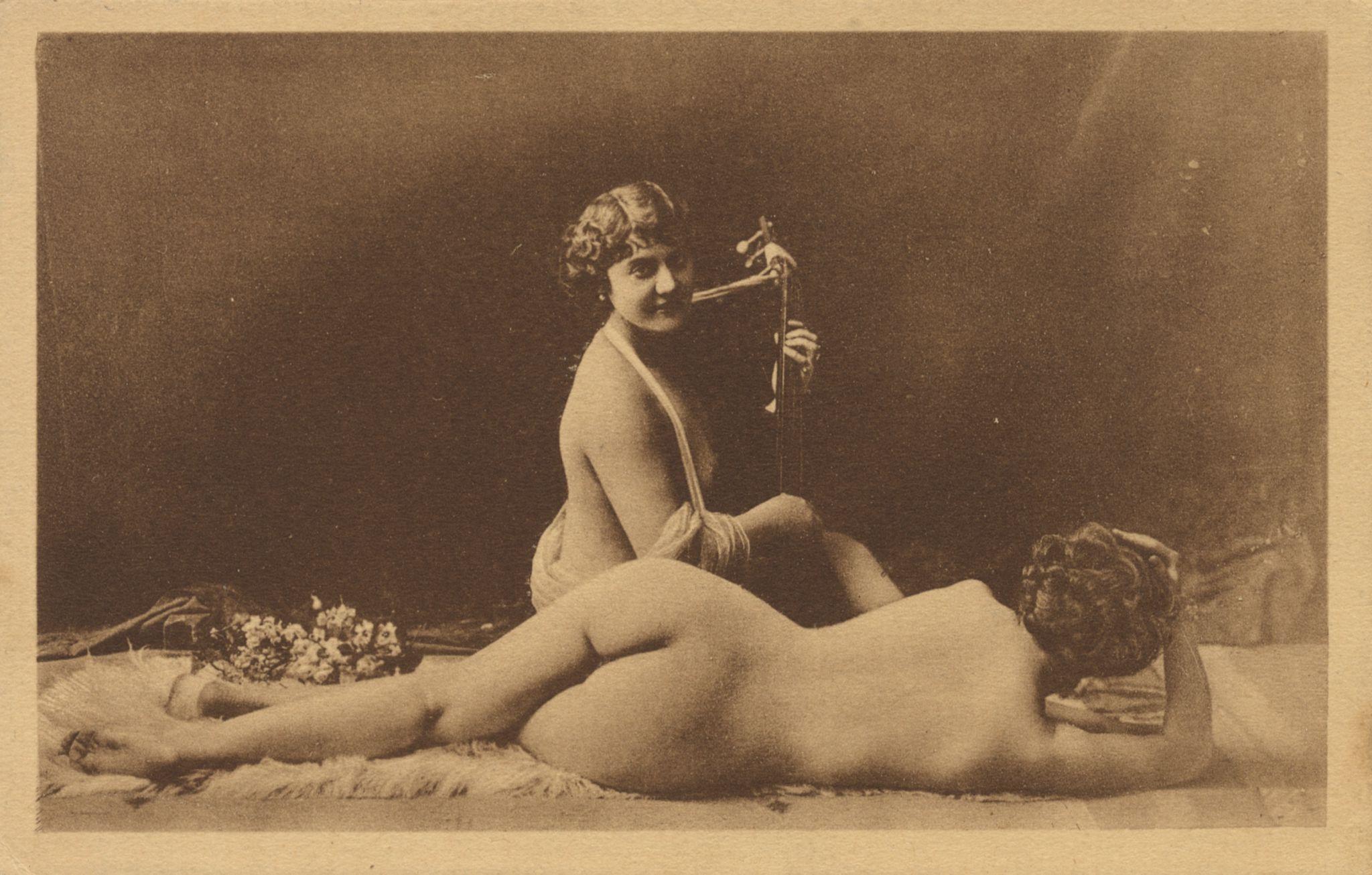 Ретро эротические открытки 14 фотография
