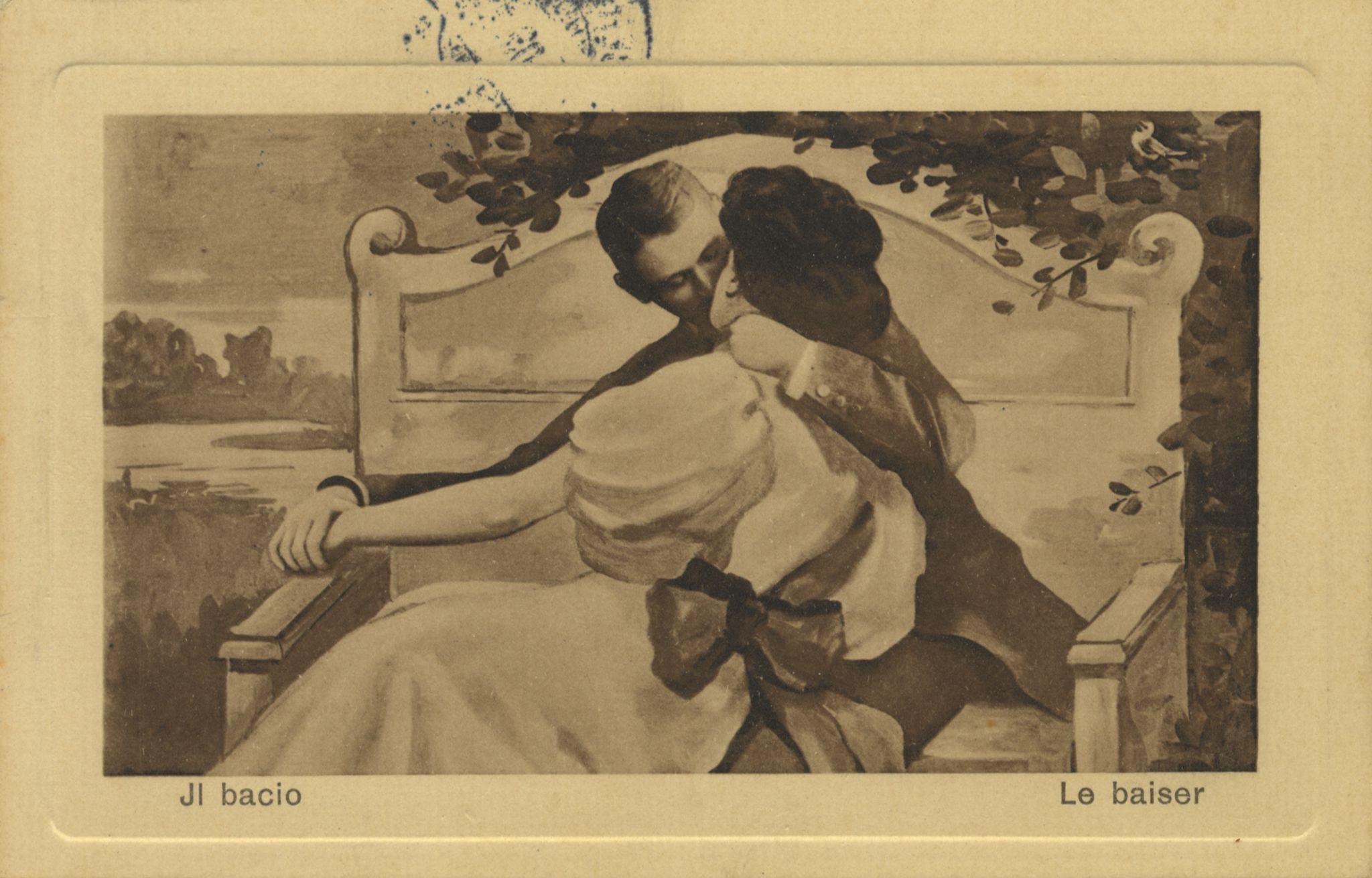 Ретро эротические открытки 2 фотография