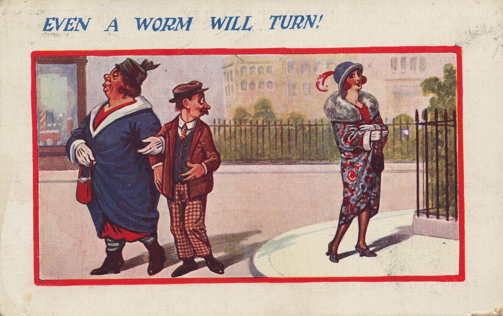 Humor Englisch Even A Worm Will Turn Zenoorg