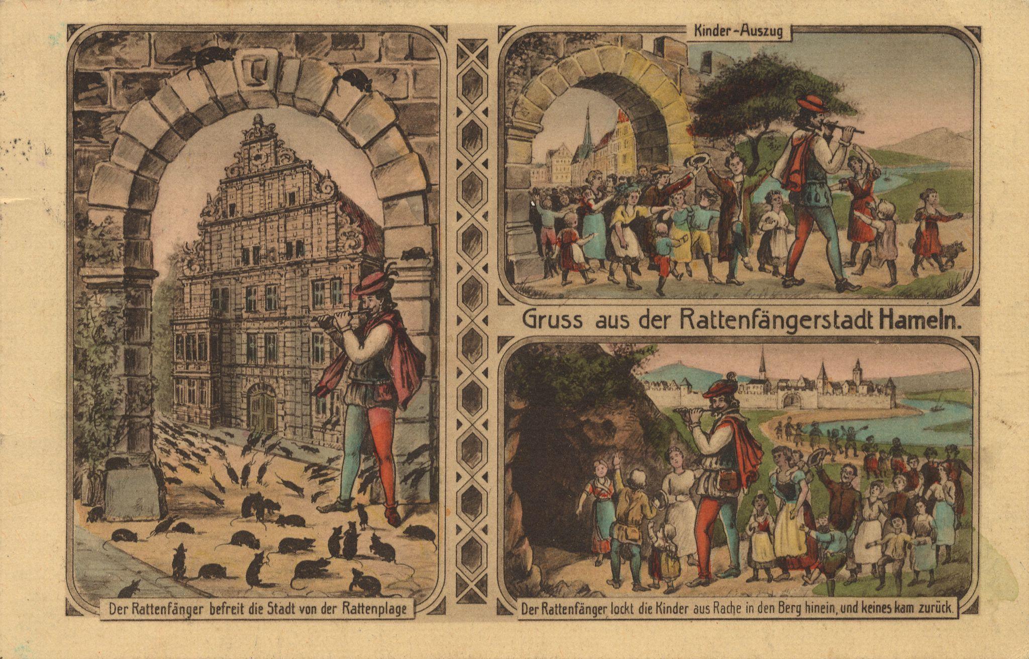 Célèbre Märchen und Sagen, Rattenfänger von Hameln, Gruß aus der  SR97