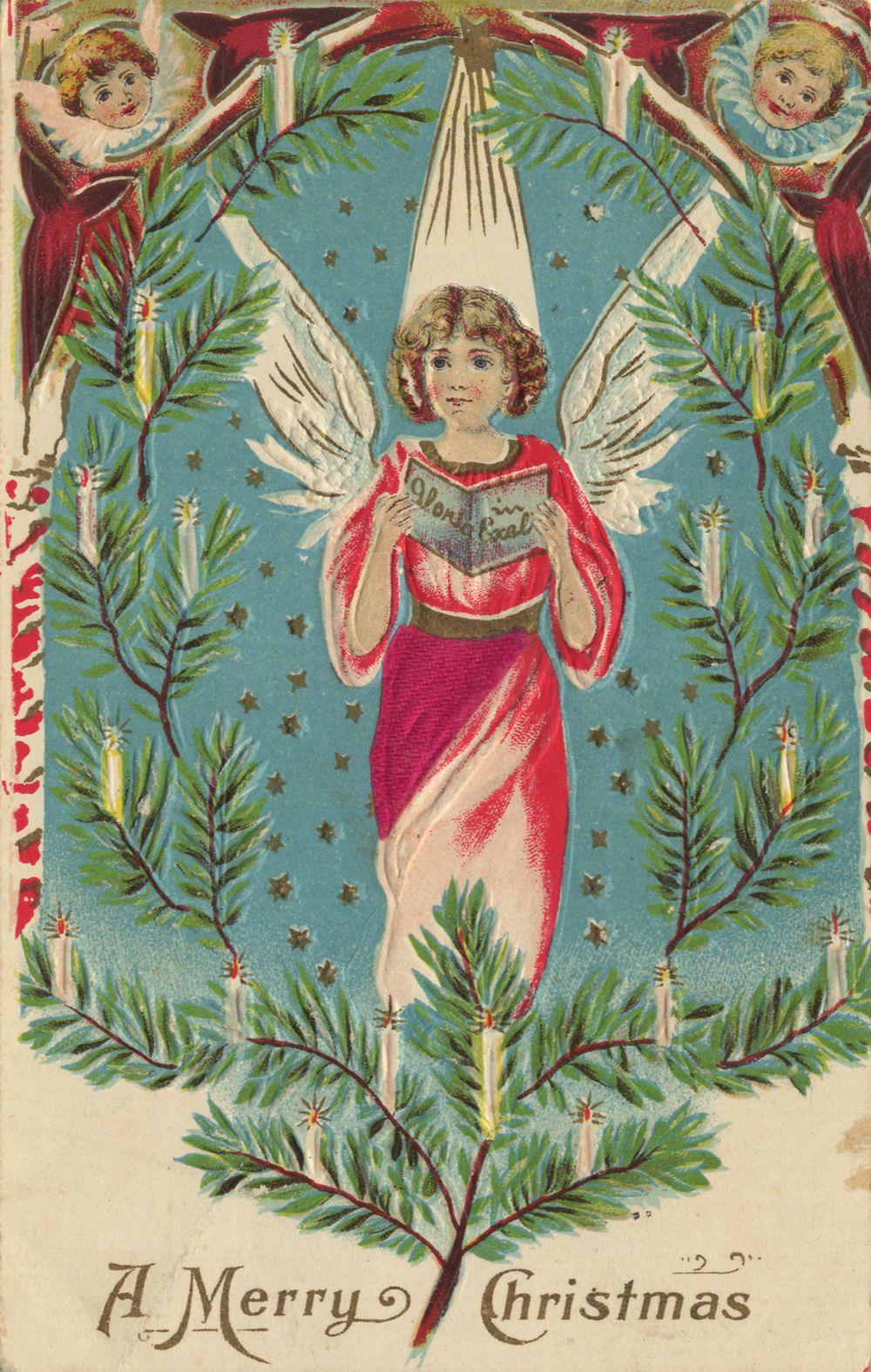 Weihnachten, Engel, Beim Singen - Zeno.org