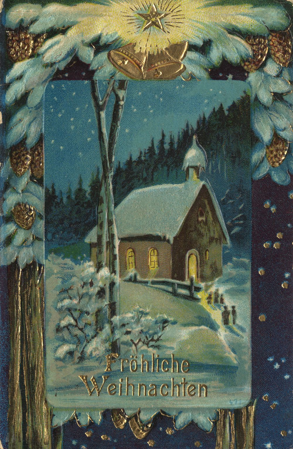 weihnachten kirchen kirchgang zur mitternachtsmesse. Black Bedroom Furniture Sets. Home Design Ideas