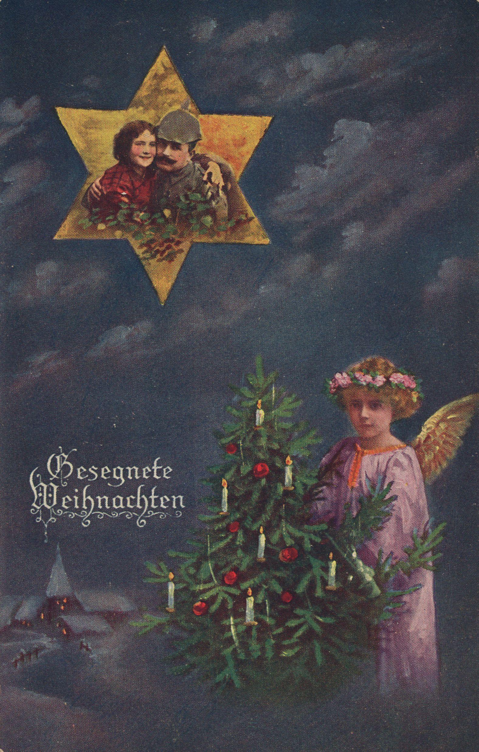 Weihnachten, Personen, Soldat und Tochter - Zeno.org