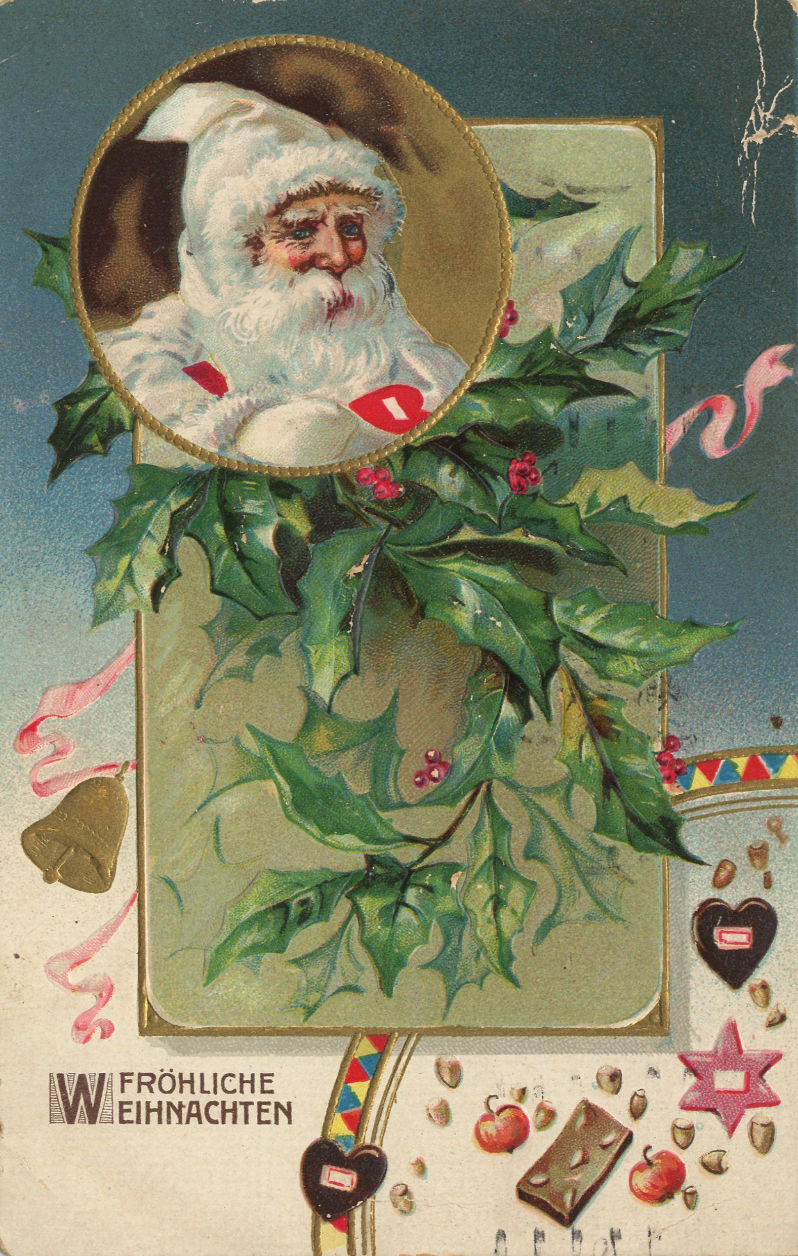 Рождество в германии новогодние рисунки плакаты 4
