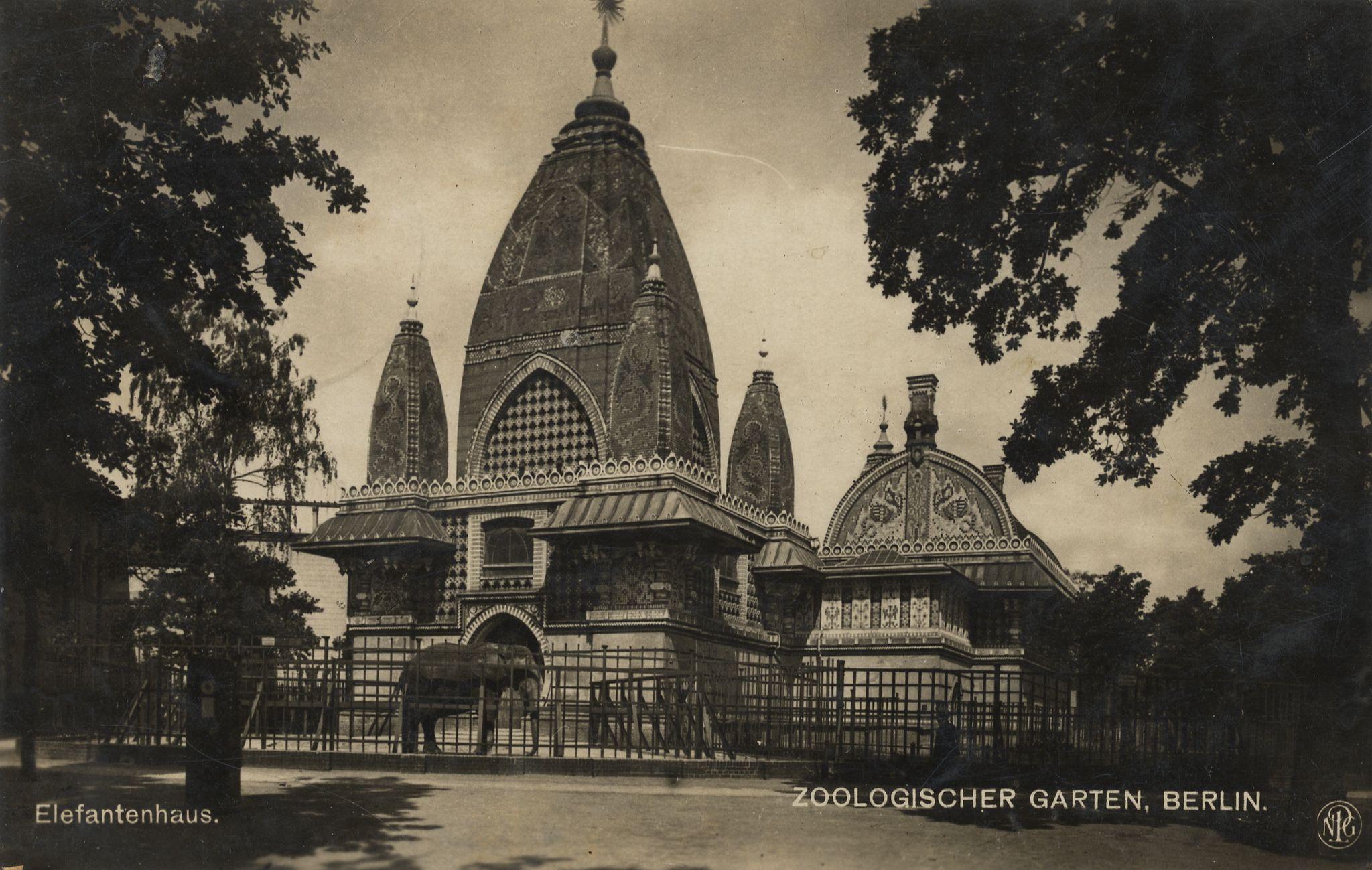 Zoologische Gärten, Berlin, Elefantenhaus [2] - Zeno.org