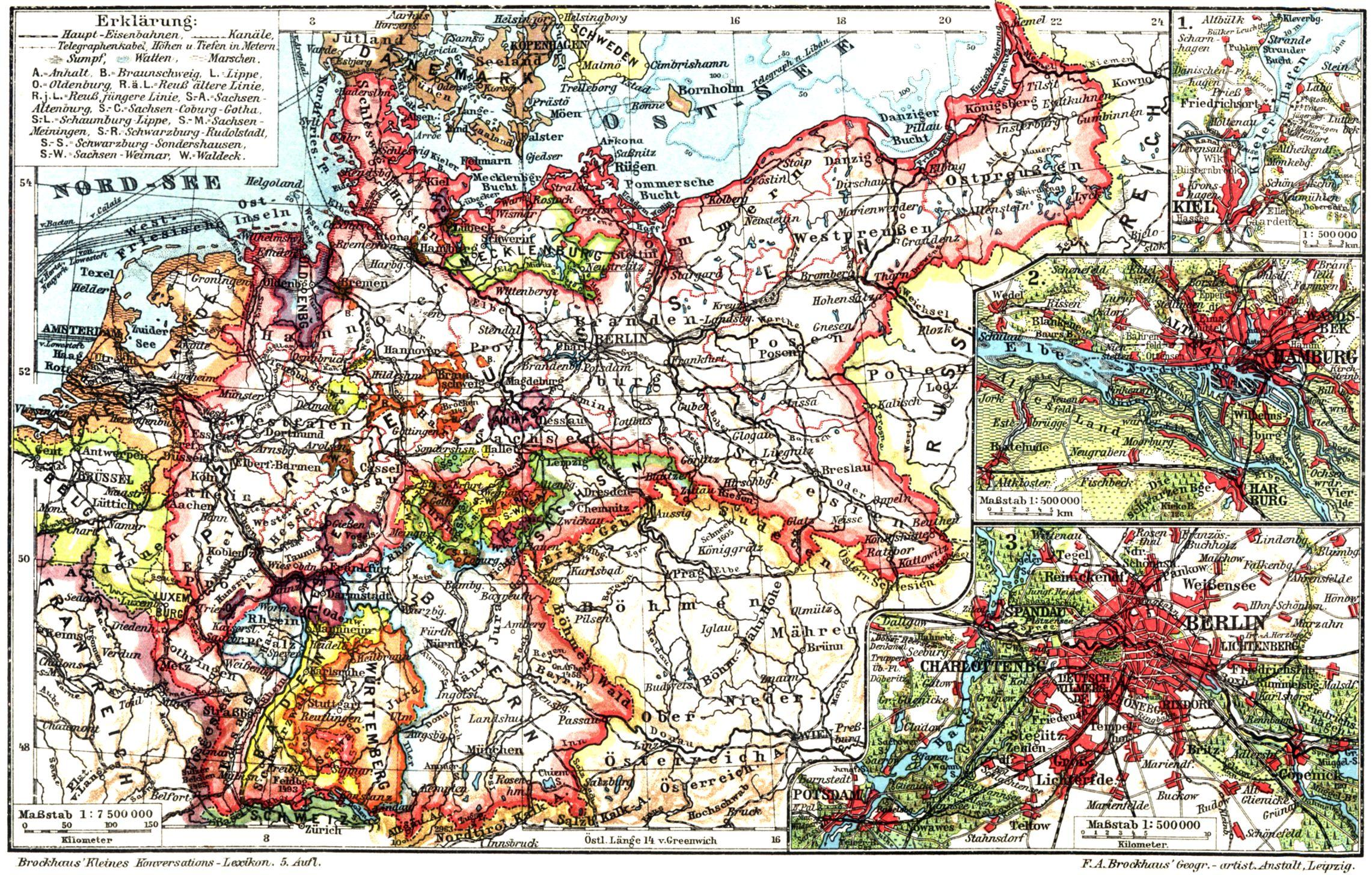 Deutsches Reich Karte.Deutsches Reich I Karten Zeno Org