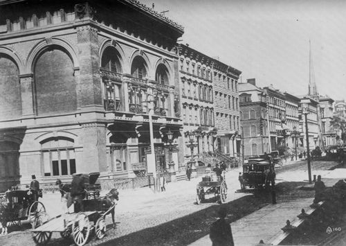 Amerikanischer Photograph um 1880: Fifth Avenue und 18th Street