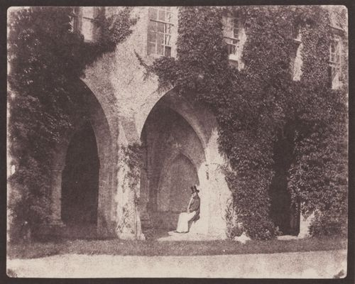 Talbot, William Henry Fox: Lacock Abbey, Kreuzgang