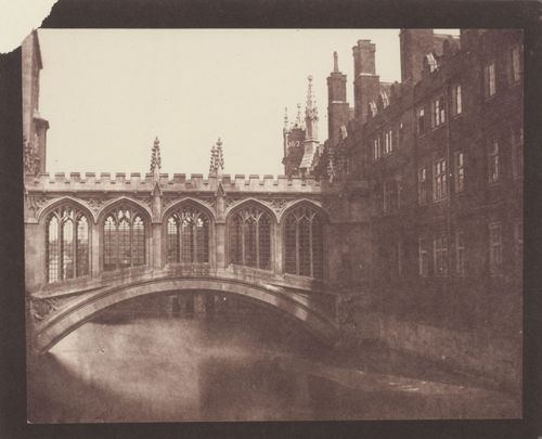 Talbot, William Henry Fox: Cambridge, »Seufzer-Brücke«