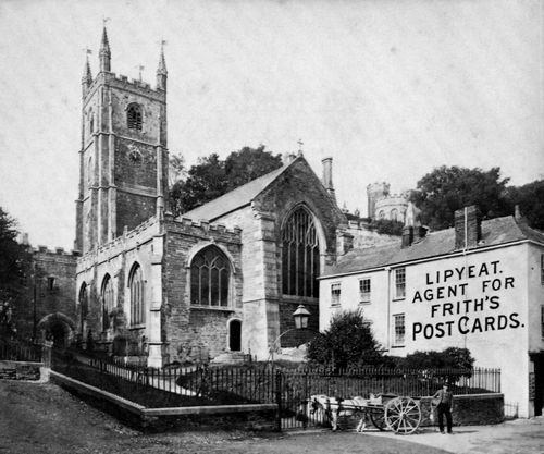 Frith, Francis: Kirche in Fowey
