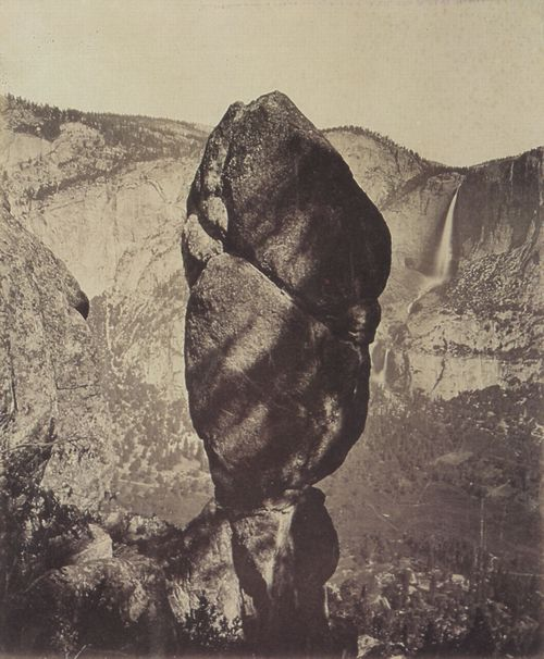 Watkins, Carleton: »Ten Pin Rock« im Yosemite Valley