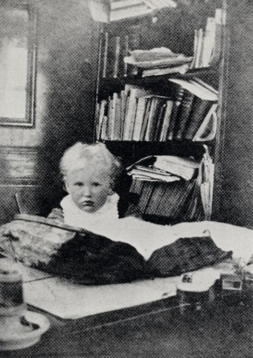 Strindberg, August: Hans, der Sohn Strindbergs, in Gersau
