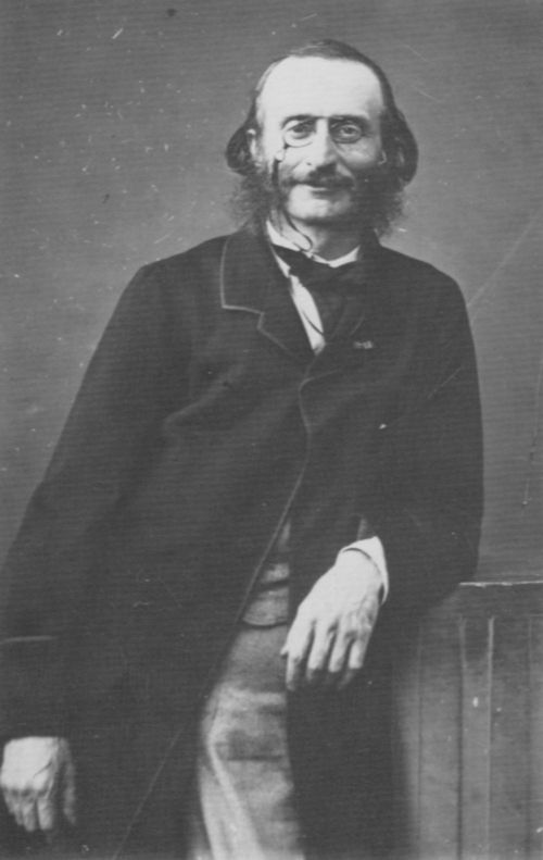 Atelier Nadar: Jacques Offenbach (1819-1880), Komponist