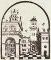 Loy, Erasmus: Renaissance-Piazza mit Turm