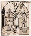 Loy, Erasmus: Hof mit Brunnen
