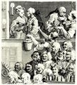 Hogarth, William: Das lachende Publikum