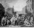 Hogarth, William: Der Marsch nach Finchley