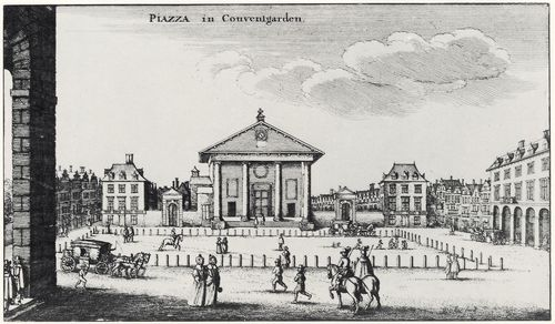 Hollar, Wenzel: London, St. Paul in Coventgarden