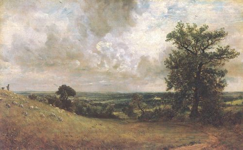 Constable, John: Die Felder am West End, Hampstead