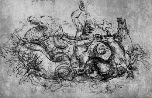 Leonardo da Vinci: Neptun